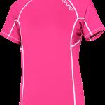 Bare SS Rash Guard Pink