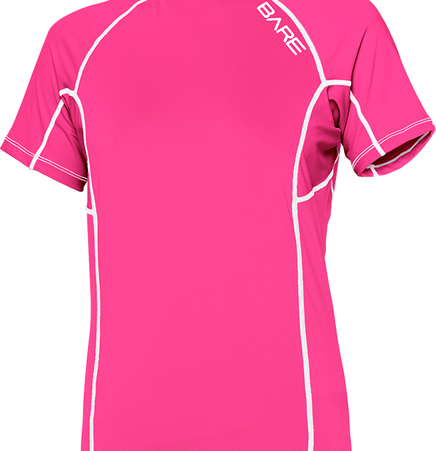 Bare SS Rash Guard Pink