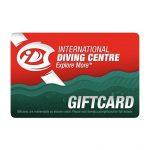 Scuba Gift Card