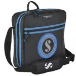 Scubapro-DIVE-REGULATOR-VINTAGE-TRAVEL-BAG-BLACK