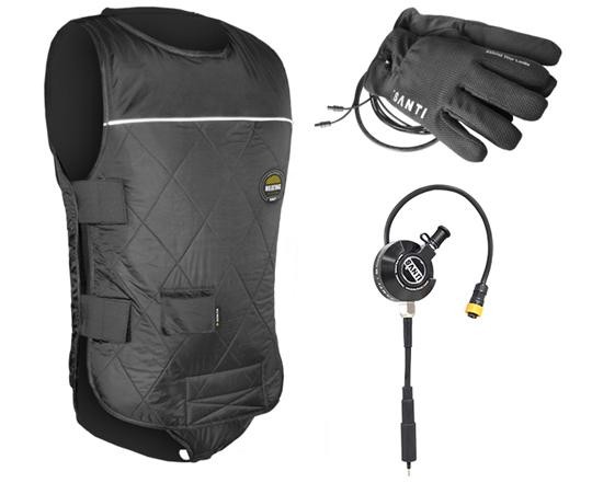 Santi-Premium-Set-Plus-Heated-Vest-+-Connector-+-Heated-Gloves