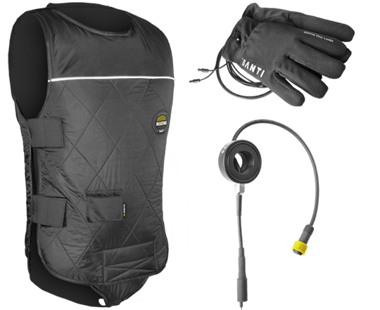 Santi-Premium-Set--Heated-Vest-+-Connector-+-Heated-Gloves