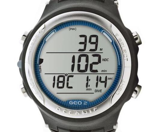 Black Oceanic GEO 2.0 Wrist Computer