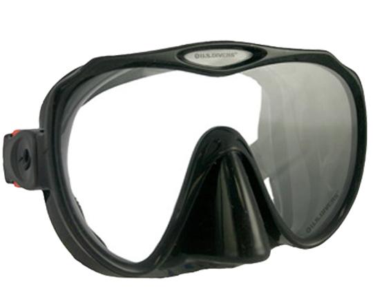 us-divers-malibu-lx-mask-blk-silicone