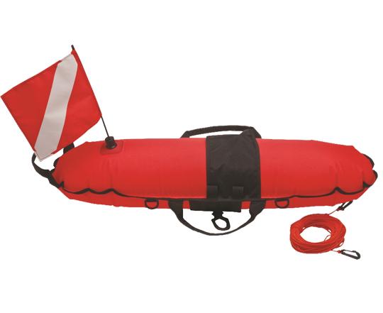 Torpedo-Buoy-Orange-with-Line