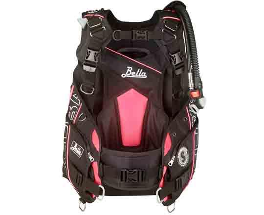 Scubapro-Bella-Pink-Black