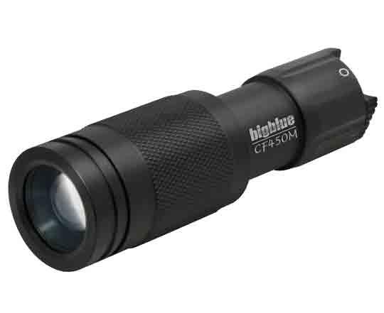 450-Lumen-Mini-Adjustable-Beam-Dive-Light-Black